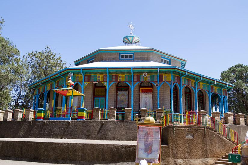 image Ethiopie Addis Abeba Eglise Maryam Entoto  fo