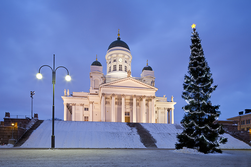 image Finlande helsinki cathedrale lutherienne  it