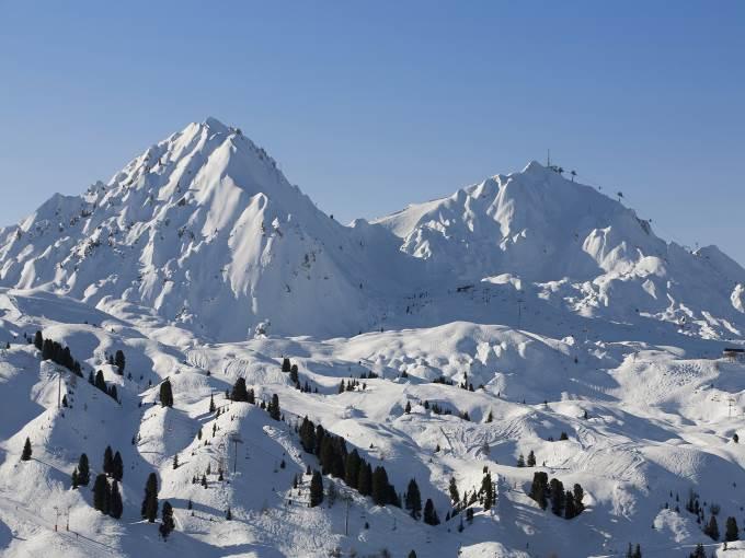 image France Belle Plagne le Centaure ski slopes