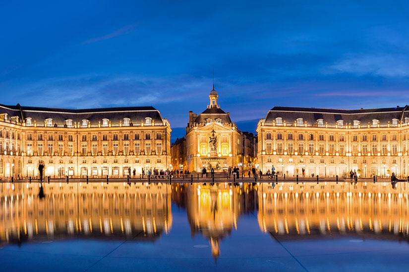 image France Bordeaux Place Bourse  fo