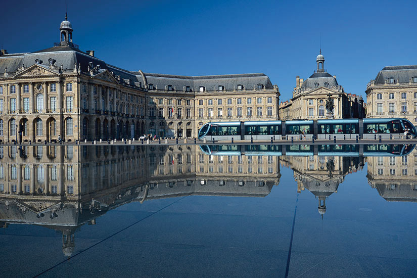 image France Bordeaux place de la Bourse  fo