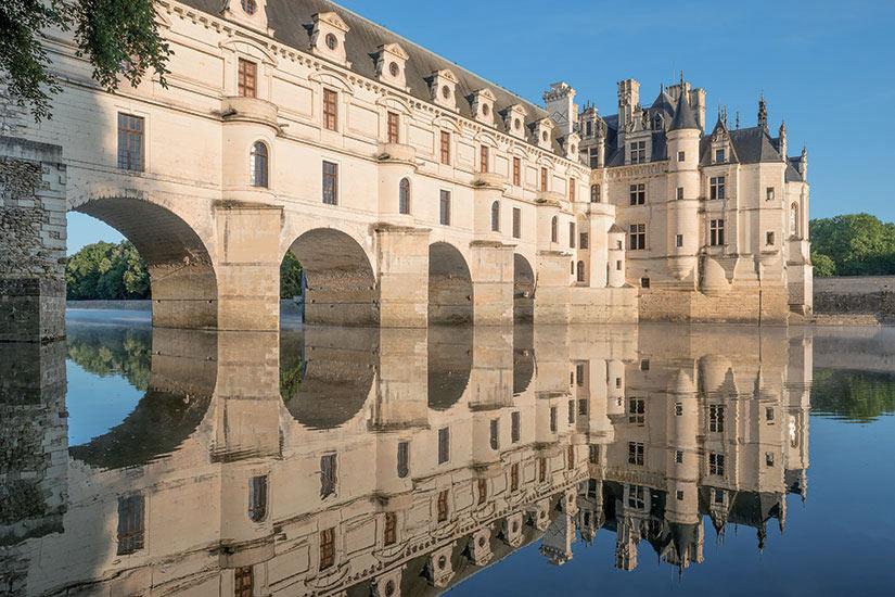 image France Chenonceau valee de la loire riviere Cher  fo