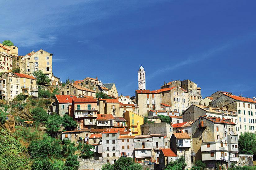 image France Corse Corte Panorama  fo