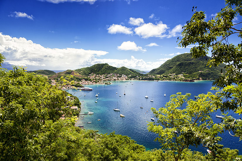 image France Guadeloupe Saintes Islands Bay Terre Haute  fo