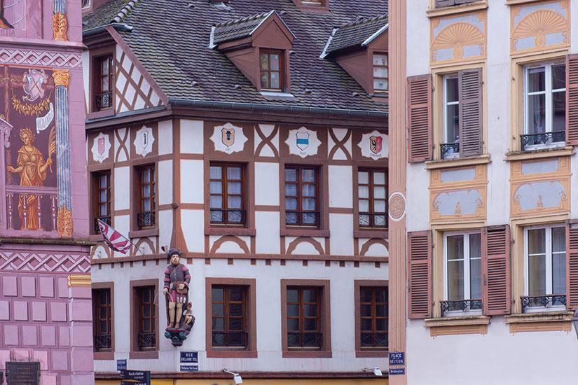 image France Mulhouse facades de la palace Lambert  fo