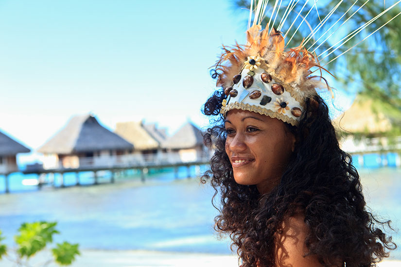 image France Tahiti Bora Bora Danseur  it