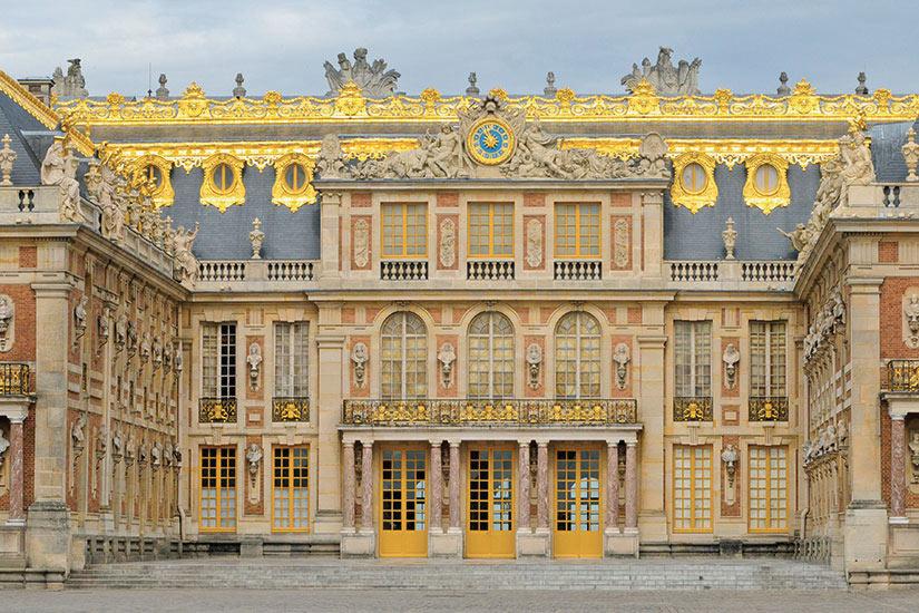 image France Versailles facade de Palais  fo