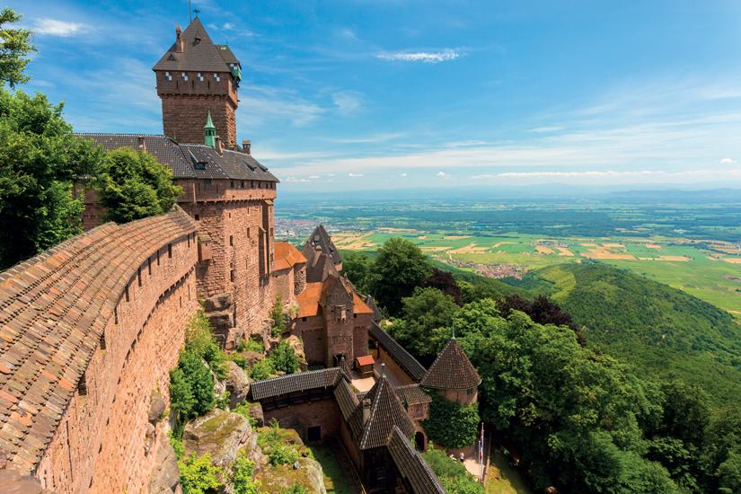 image France alsace vue densemble chateau donjon 53 fo_86373706
