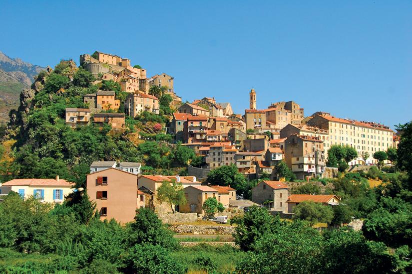 image France corse corte village mer 61 fo_47956606