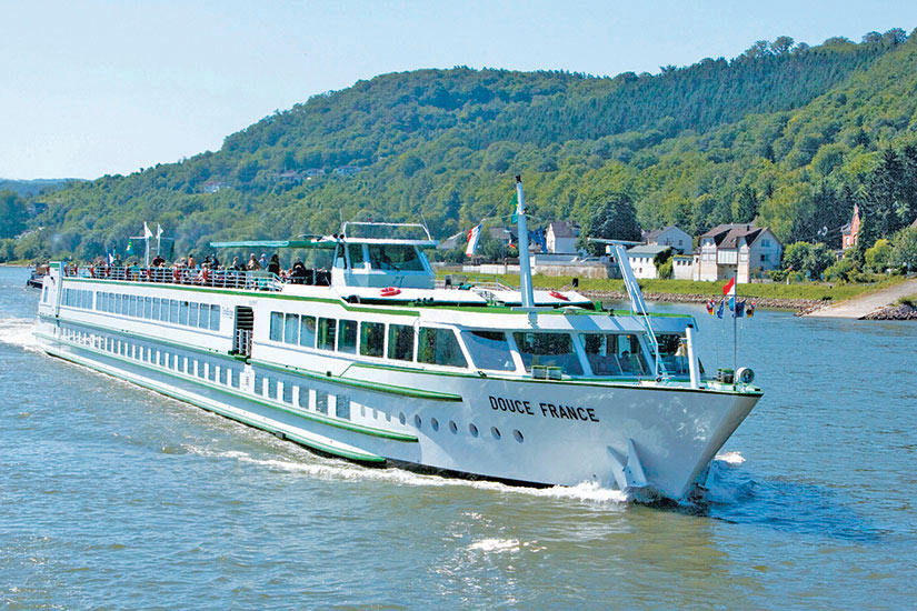 image France croisiere rhin moselle Douce France