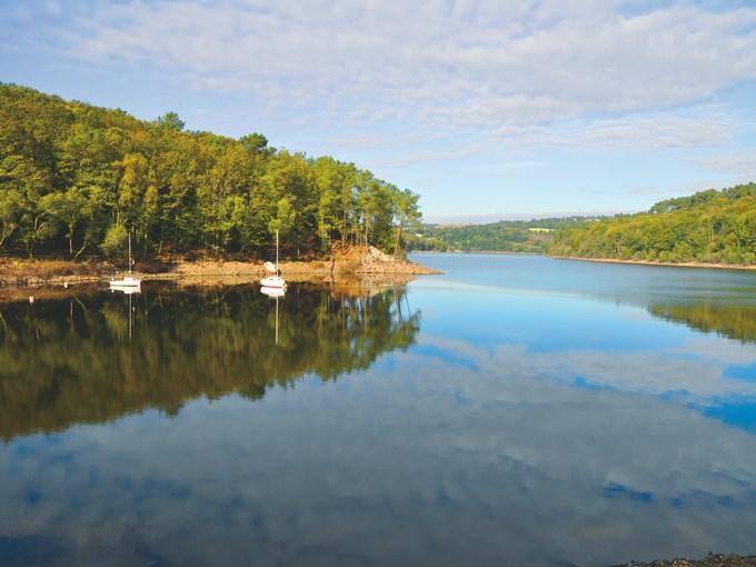 image France lac Guerledan