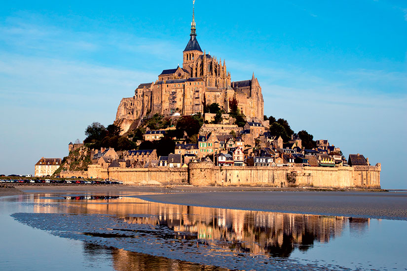 image France mont saint michel vue ensemble