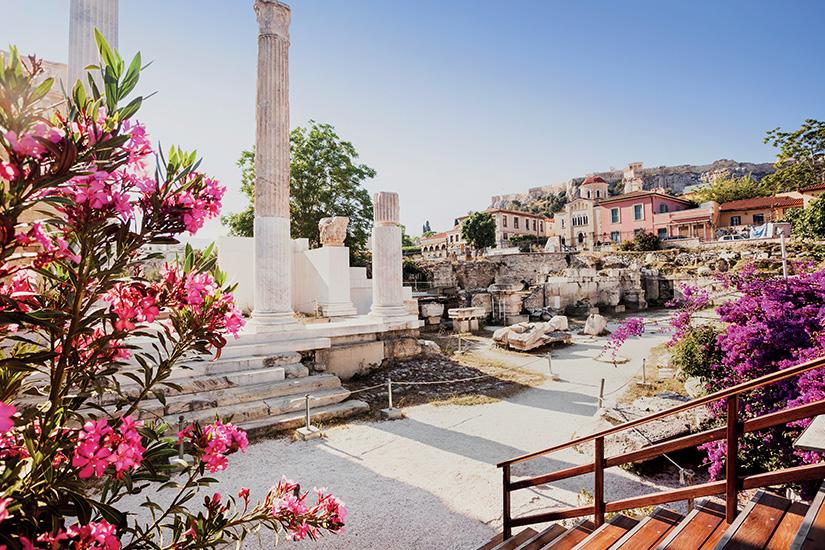 image Grece Athenes quartier Plaka as_284485848