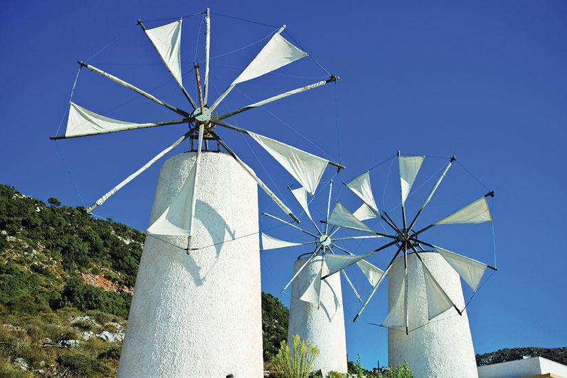 image Grece Crete Heraklion Moulins  it