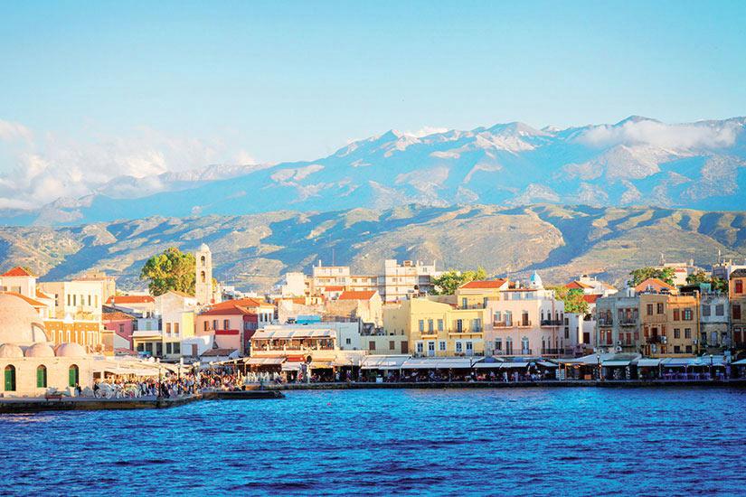 image Grece Crete La Chanee celebre baie venetian  fo