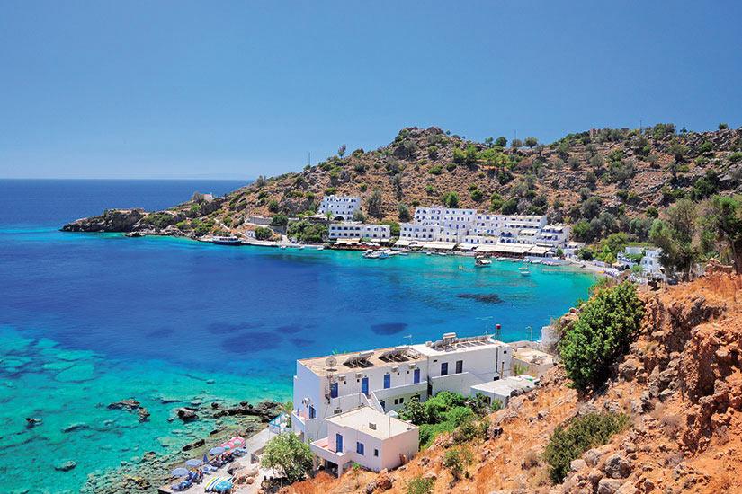 image Grece Crete Loutro village  fo