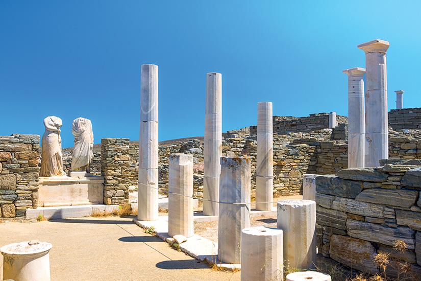 image Grece Cyclades Delos ruines as_212906843