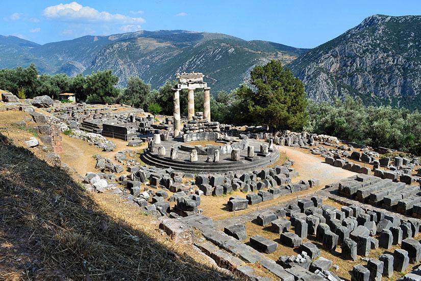 image Grece Delphi panorama  it