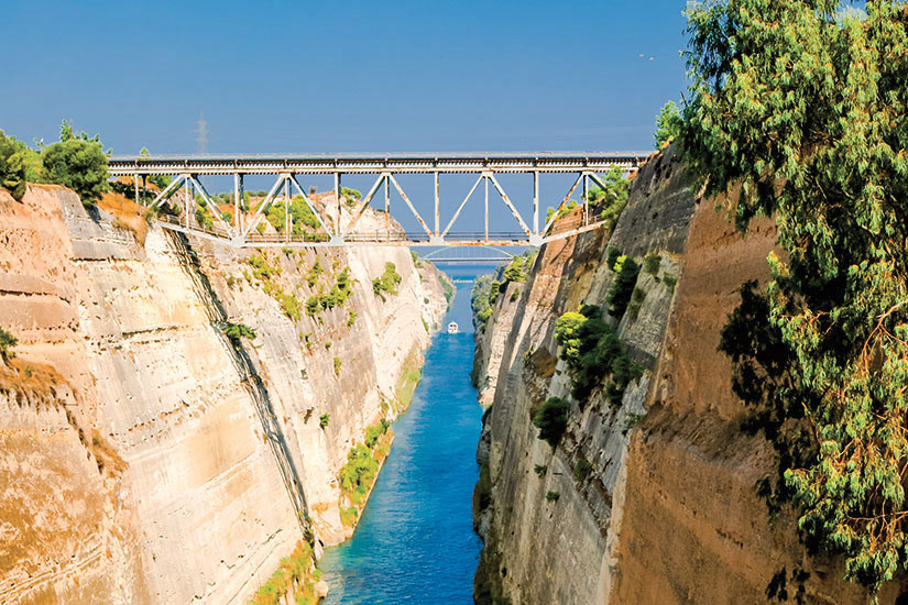 image Grece Peloponnese Canal Corinthe  fo