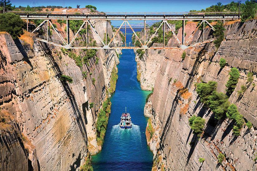 image Grece Peloponnese Canal de Corinthe  it