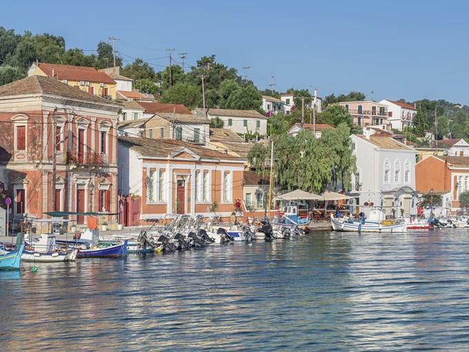 image Grece paxos port