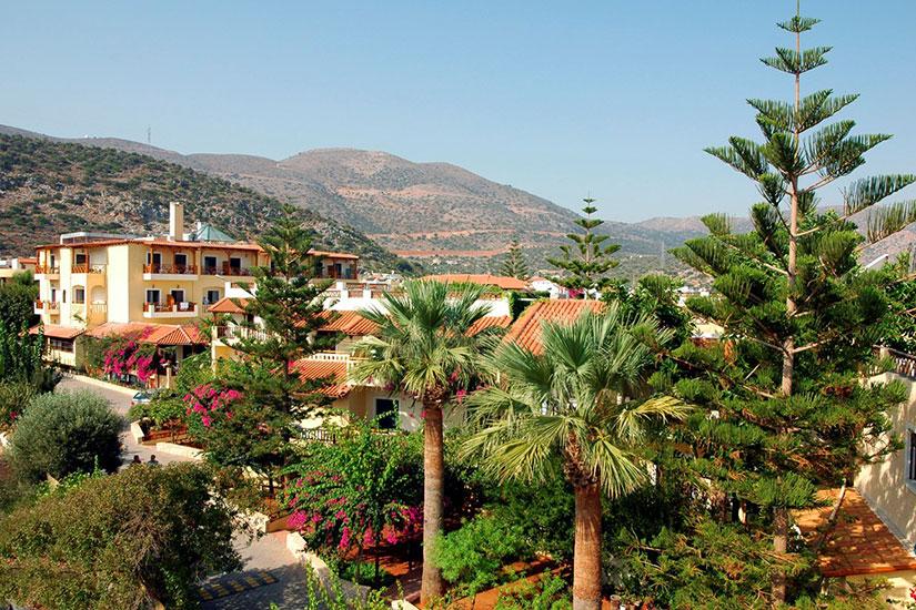 image Grece stalis hotel cactus beach jardins