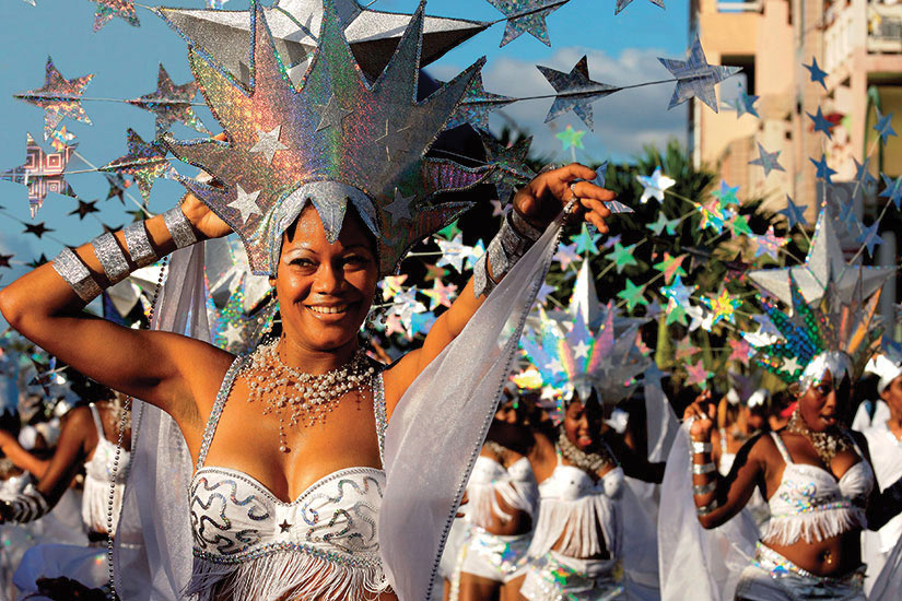 image Guadeloupe carnaval pointe a pitre
