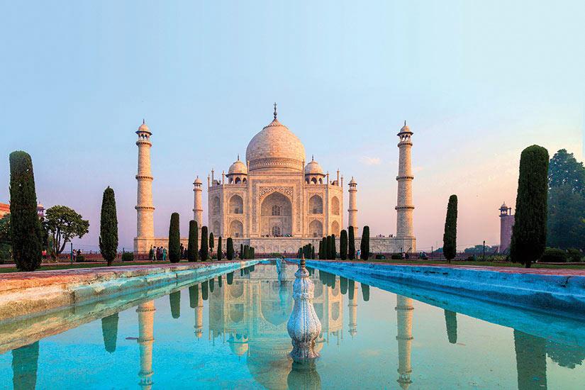 image Inde Agra Taj Mahal architecture impressionnante  it