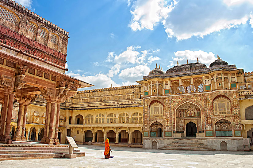 image Inde Jaipur Amber fort  it