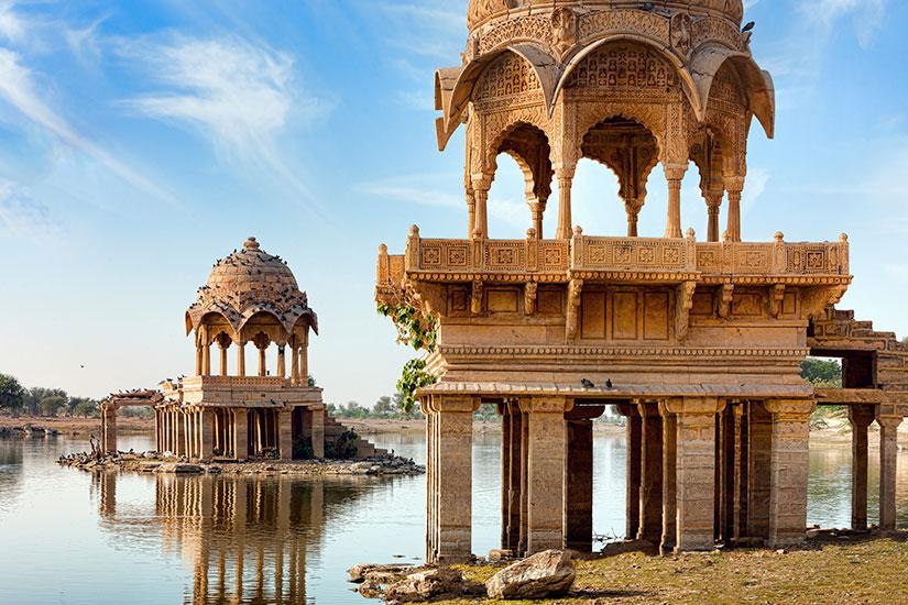 image Inde Rajasthan lac Gadi Sagar Gadisar  it