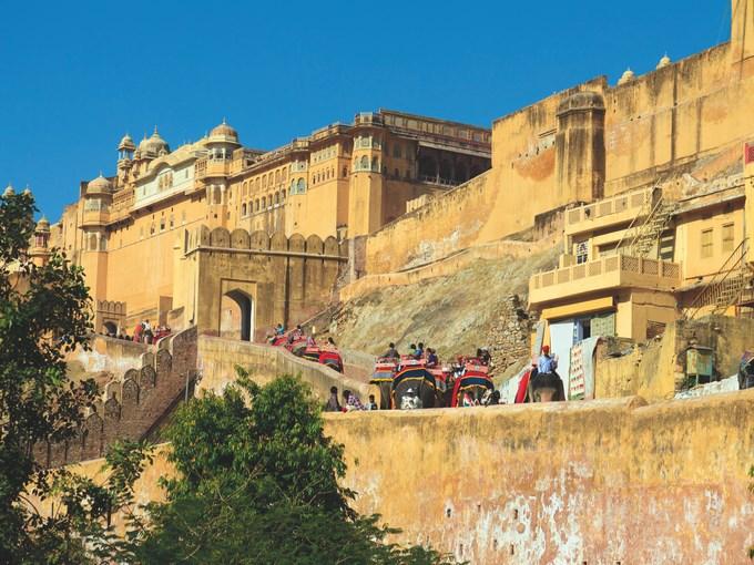image Inde jaipur fort amber