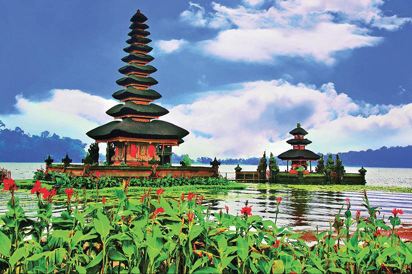 image Indonesie Bali Pura Ulun Danu Bratan Temple  fo