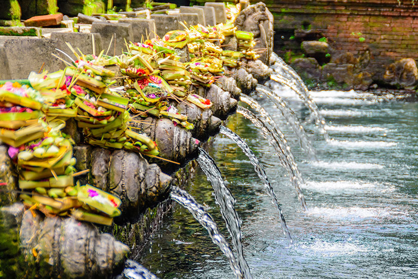 image Indonesie Bali Temple Pura Tirta Empul  it