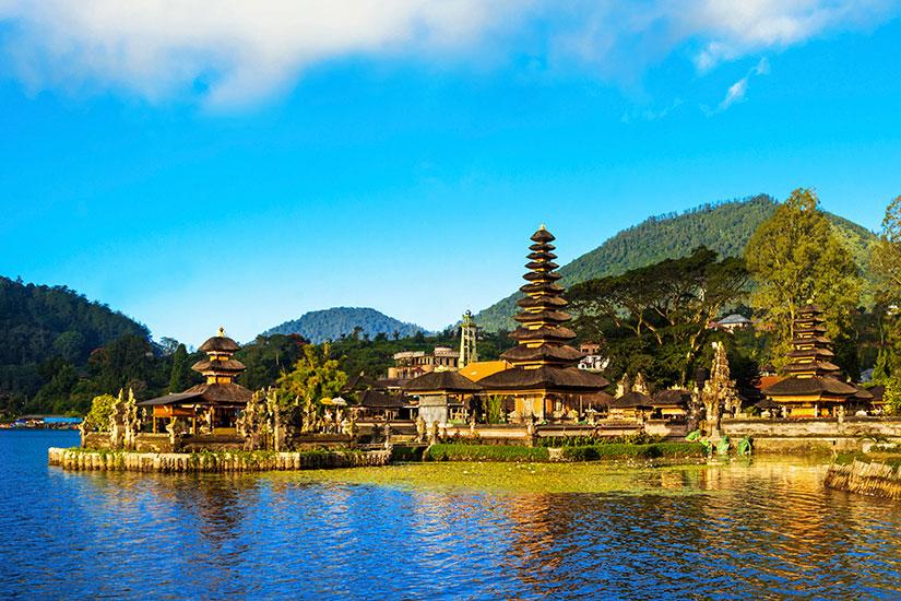 image Indonesie Bali Temple eau  it