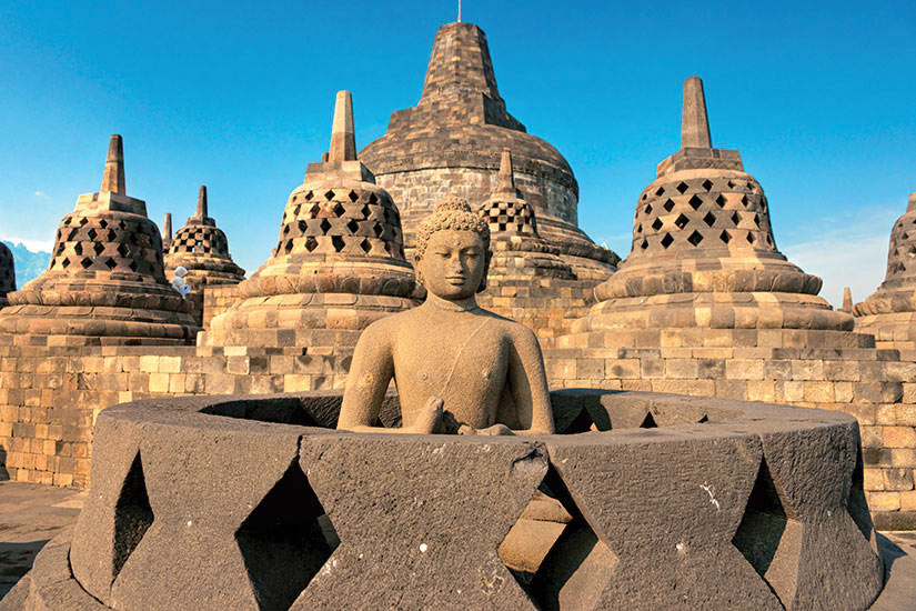 image Indonesie Java Borobudur Temple  it