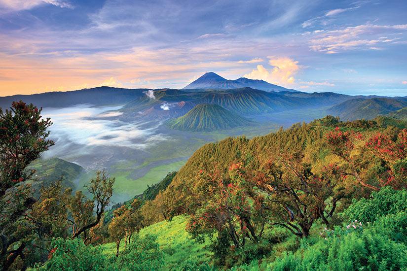 image Indonesie Java volcan Bromo au lever du soleil  fo