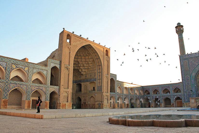 image Iran Ispahan Mosquee  fo