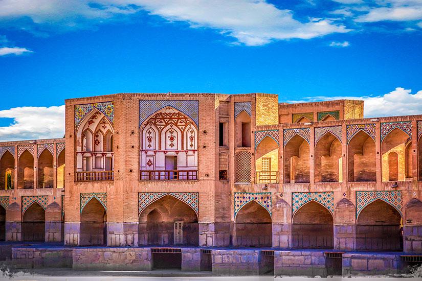 image Iran Ispahan Pont Khajoo  it