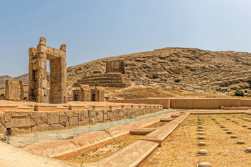 image Iran Persepolis ruines  fo
