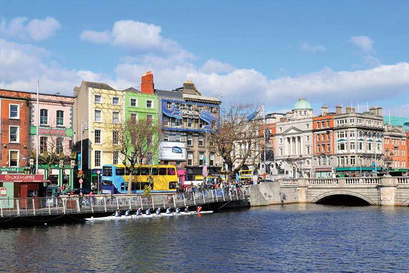 image Irlande Dublin panoramique  fo