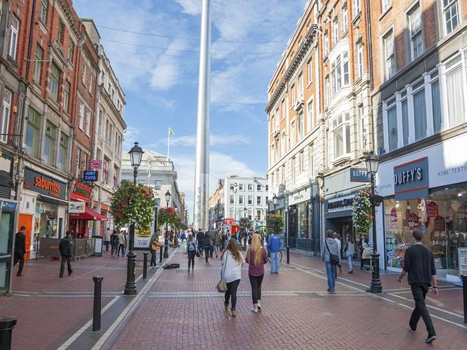 image Irlande dublin rue