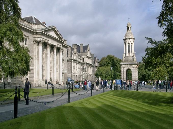 image Irlande dublin trinity college