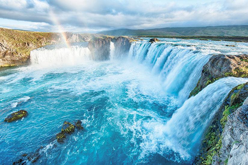 image Islande Cascade Godafoss  fo