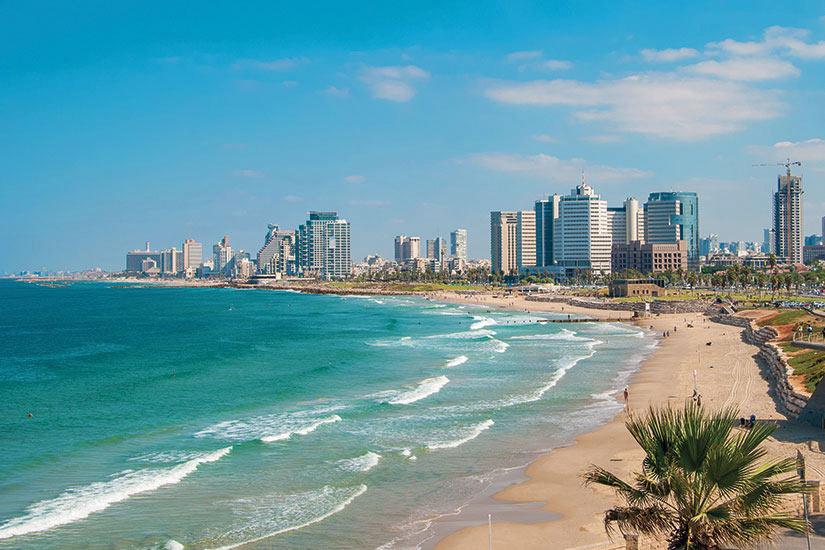 image Israel Tel Aviv vues du front de mer et des plages  it