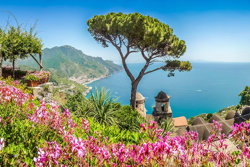 image Italie Cote Amalfitaine Campanie panorama  fo