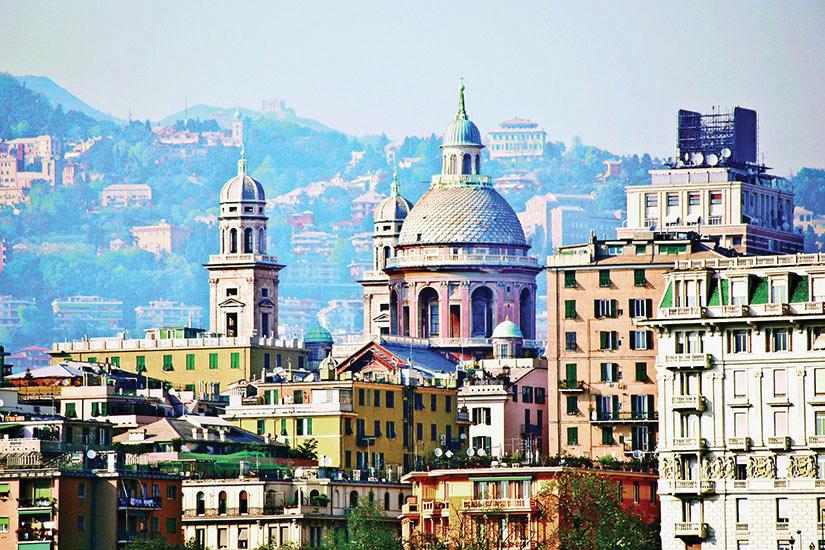 image Italie Genes Panorama  it
