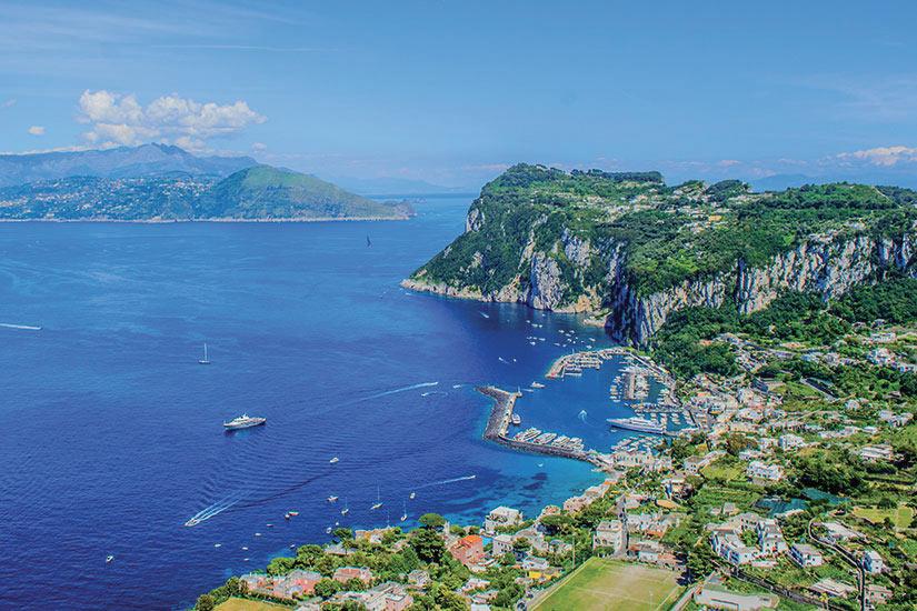 image Italie Ile Capri Vue aerienne  fo