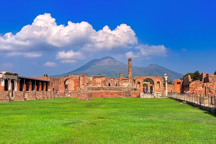 image Italie Naples Pompei Vesuve  fo