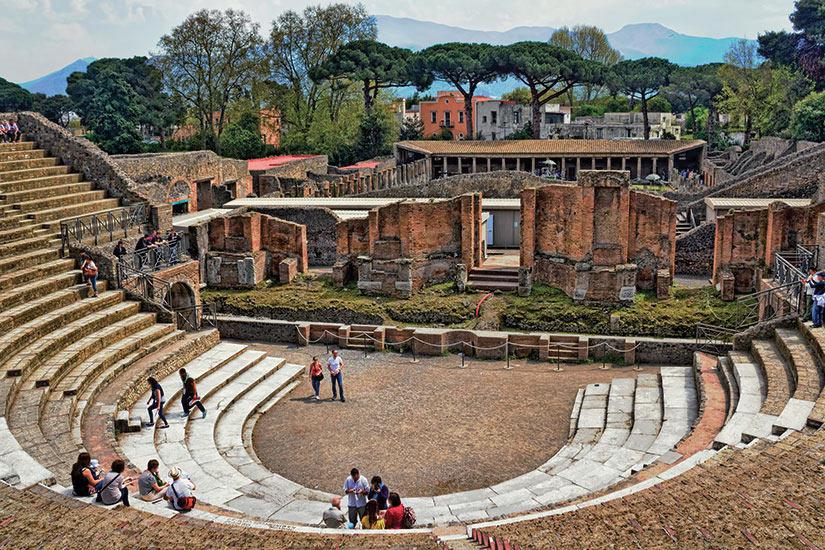 image Italie Pompei Groes Theatre  fo