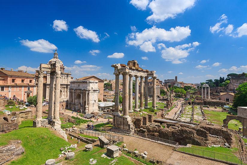 image Italie Rome Forum romain  fo